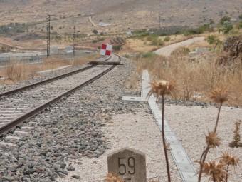 La provincia de Granada lleva 15 meses sin conexiones ferroviarias. Foto A.Matas