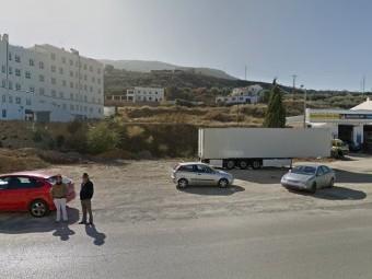 Parcela disponible en El Mantillo donde podría alzarse la estación de autobuses de Loja.