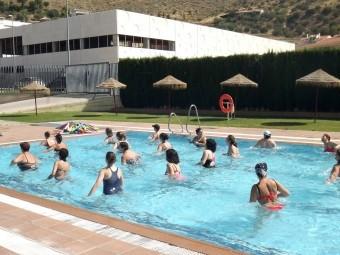 A partir del día 1 de julio comenzarán las actividades deportivas en la piscina. FOTO: P.C.