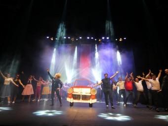El festival concluyó con un espectacular número del tema central de 'Grease'. FOTO: P.C.