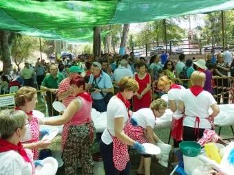 Mendingá popular de Riofrío celebrada en su 40ª edición el año pasado.