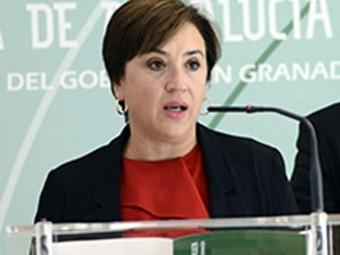 La delegada del Gobierno de la Junta de Andalucía, Sandra García. FOTO: EL CORTO
