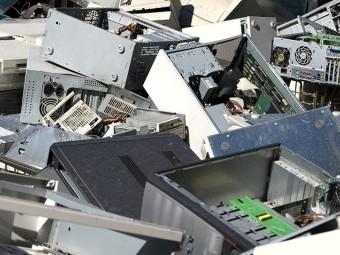 Los residuos de electrodomésticos y artículos electrónicos pueden llevarse al Punto Limpio de Loja