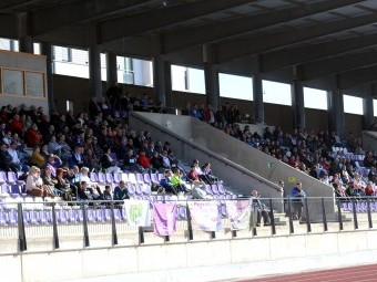 El estadio Medina Lauxa espera tener público en la grada, aunque con limitación de aforo