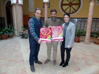 Izquierdo, Camacho y Gallego, durante la presentación de la campaña. FOTO: C. MOLINA