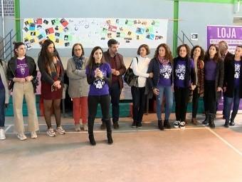 Acto del Día de la Mujer en el IES Alfaguara