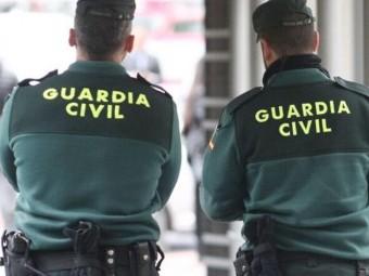 La Guardia Civil investiga a dos individuos por el huerto en una almazara en Loja. FOTO: G. C.