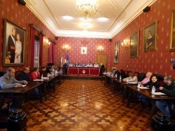 Un momento de la sesión plenaria celebrada este pasado martes. FOTO: PACO CASTILLO