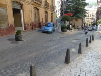 Adoquinado de la calle Duque de Valencia