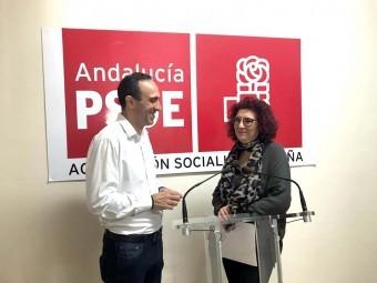 Vázquez y González en rueda de prensa.