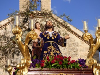 La Cofradía de Nuestro Padre Jesús Orando en el Huerto protagoniza el Martes Santo.
