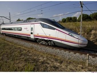 Tren Avant 114 que prestará servicio a la nueva ruta. FOTO: RENFE