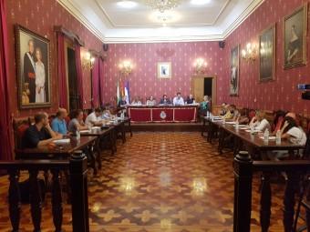 Momento de la sesión plenaria celebrada este martes. J. ÁGUILA