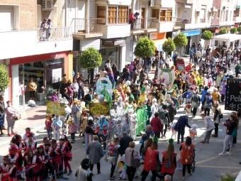 Participaron todos los colegios y centros infantiles del municipio de Loja. FOTO: P. C.