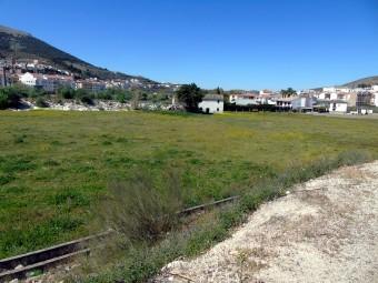 Terrenos donde irá ubicado el futuro recinto ferial de Loja. FOTO: C. MOLINA