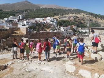 Los niños han realizado numerosas actividades lúdicas y recreativas. FOTO: CRUZ ROJA