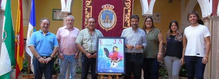 Momento de la presentación del cartel y pregoneros de la Real Feria Grande de Loja 2019