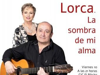Cartel que anuncia el recital musical en torno a Lorca. FOTO: EL CORTO