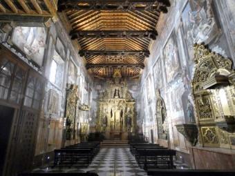Iglesia del convento de Santa Clara, recientemente restaurada. FOTO: CARLOS MOLINA