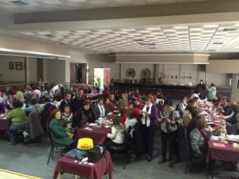 Encuentro de mujeres del municipio celebrado en Ventorros de San José en el mes de marzo.