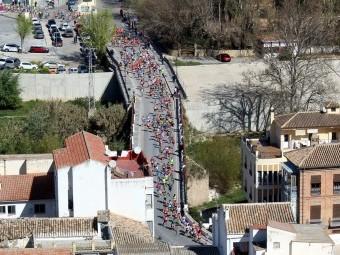 Vista general de la prueba del pasado año en Loja. FOTO: MIGUEL JÁIMEZ.