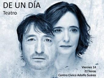 Carmelo Gómez y Ana Torrent protagonizan 'Todas las noches de un día'.