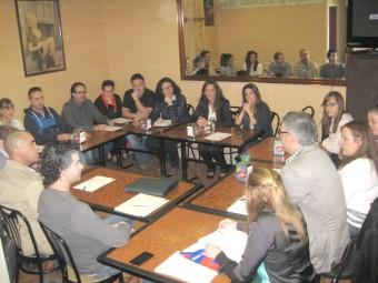 Los participantes tuvieron ocasión de compartir información y experiencias