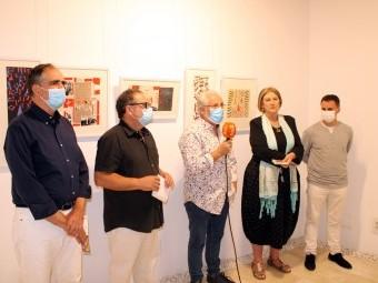 Acto inaugural de la exposición del artistas Juan Antonio Díaz. FOTO: A. MATAS