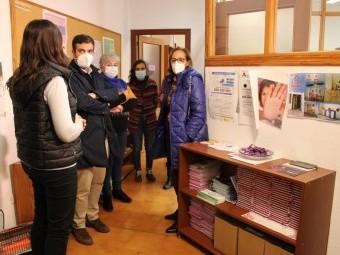 El Centro de Información a la Mujer se refuerza ante la pandemia. FOTO: C. MOLINA