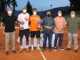 Entrega de premios del 43 Open de Tenis Ciudad de Loja