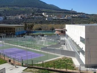 Imagen exterior que ofrece el Centro Deportivo Urbano de Loja. FOTO: CALMA