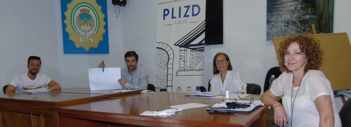 El alcalde y la concejala se reúnen con responsables del PLIZD