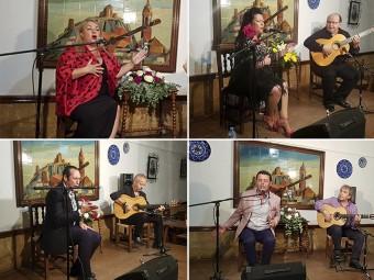 Los cuatro cantaores que se disputarán la Volaera de Plata el 24 de agosto.