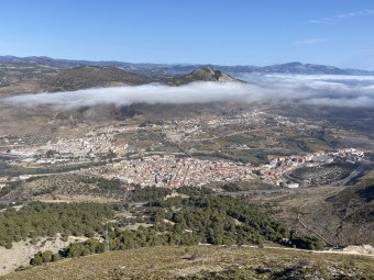 El municipio de Loja visto desde la Sierra de Loja. FOTO: A. MATAS