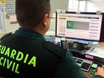 La Guardia Civil activa un dispositivo contra los delitos en la red. FOTO: EL CORTO