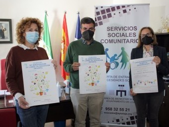Ávila, Camacho y Ortiz, en la presentación de las ayudas para Infantil. FOTO: C. M.