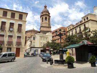 El estado del casco histórico de Loja, a debate en el pasado Pleno. FOTO: EL CORTO
