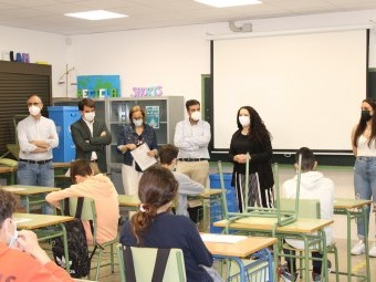 Asistentes a la clausura del taller de inteligencia emocional. FOTO: C. MOLINA