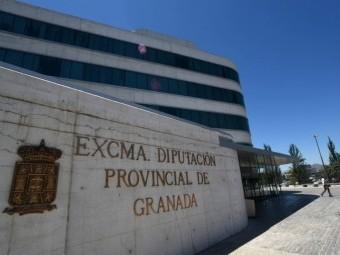 Fachada de la sede de la Diputación de Granada