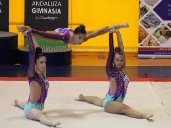 Uno de los ejercicios de Medina Lauxa en el torneo. FOTO: PACO CASTILLO.