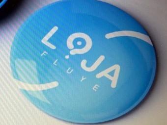 Nueva marca con la que se identificará al municipio de Loja. FOTO: EL CORTO