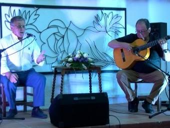 El sevillano Manuel García, uno de los cantaores de la primera velada. FOTO: CORTO
